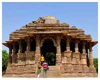 famous Sun Temple at Modhera