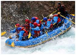 White Water Rafting on Rishikesh